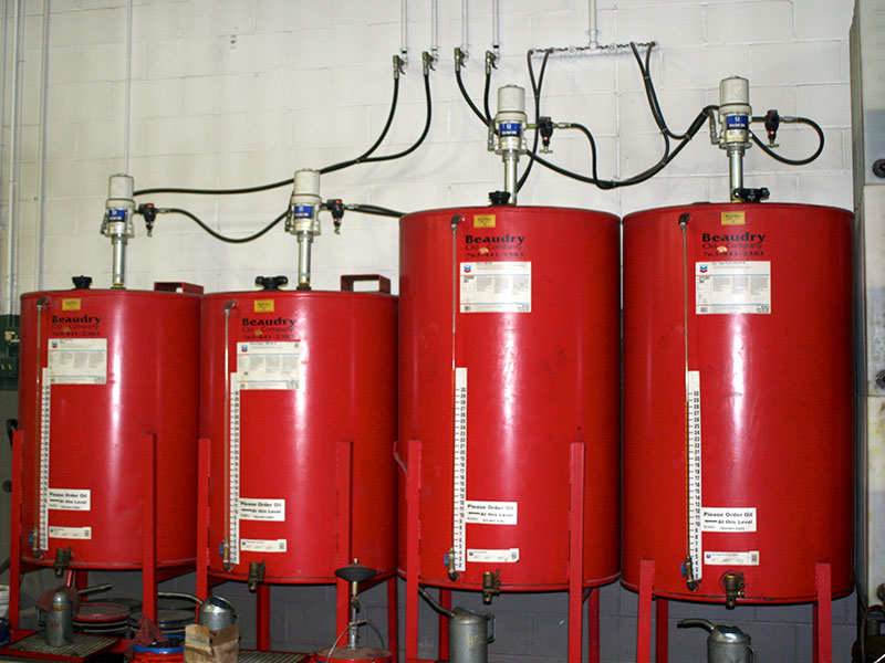 Lubricant Tanks and Equipment